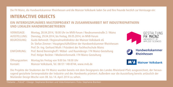 Exhibition, MVB-Forum Mainz